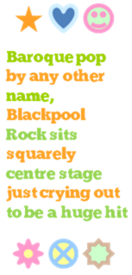 Blackpool Rock byline
