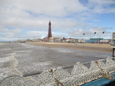Blackpool view from pier